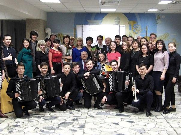 «Дорога длиною в 35…» Юбилейный концерт отделения «Инструменты народного оркестра»