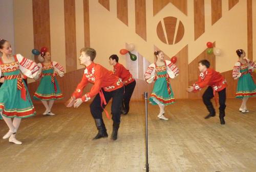 Концерт к 70-летию Победы в Великой Отечественной войне в колледже искусств