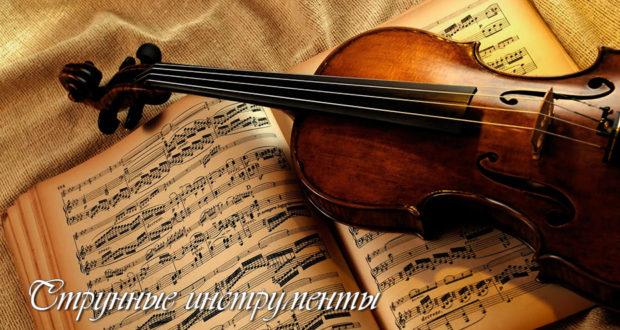 Оркестровые струнные инструменты