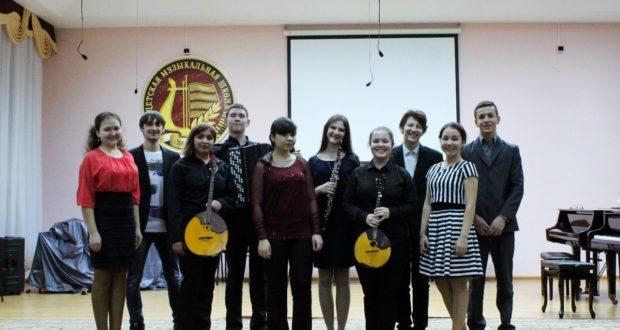 Концерт в ДМШ города Заинск