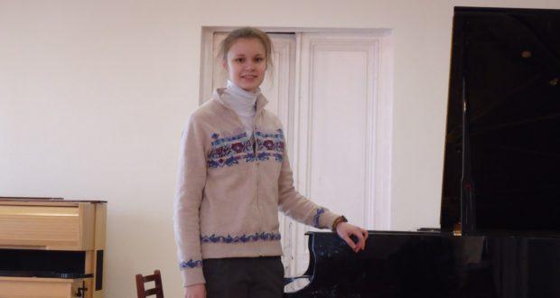 Поздравляем победителя V Международного конкурса фортепианной подготовки