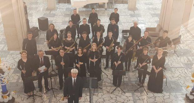 Фоторепортаж отчетного концерта «Духовые и ударные инструменты»