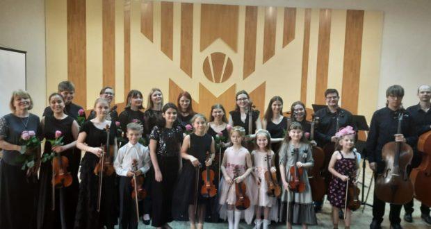 Отчетный концерт камерного оркестра колледжа искусств «Camerata»