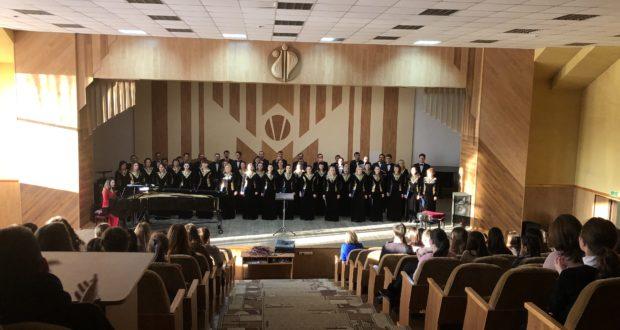 Концерт башкирской хоровой капеллы