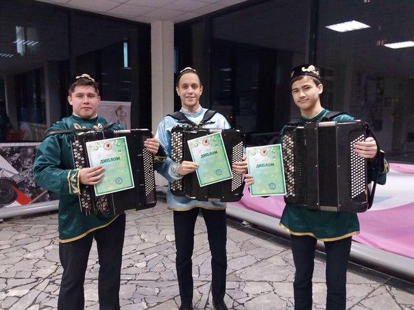 Поздравляем победителей конкурса «Уйна, гармун!»